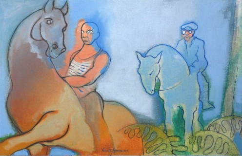 Picasso and Matisse