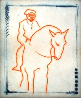 Matisse on Horseback